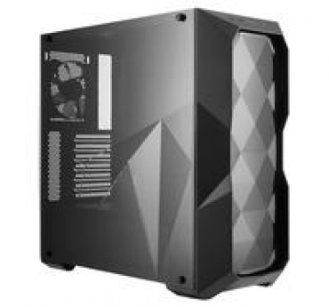 Cooler_Master MasterBox D500L  Three Dimensional Diamond cut design  acrilic side panel  up to 6x 120mm case fan