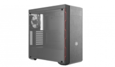 Cooler_Master MasterBox MB600L  w/ ODD  Red String  acrilic side window  brushed front panel  support up to 4 fans  grafic cards up to 400mm