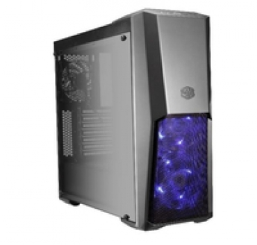 Cooler_Master MasterBox MB500  RGB Led Fans + Controller + Splitter included. Tempered Glass Window