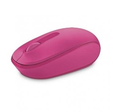 Microsoft Wireless Mobile Mouse 1850 Win7/8 EN/AR/CS/NL/FR/EL/IT/PT/RU/ES/UK EMEA EFR Magenta Pink