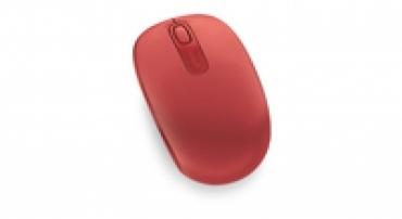 Microsoft Wireless Mobile Mouse 1850 EN/AR/CS/NL/FR/EL/IT/PT/RU/ES/UK EMEA EFR Flame Red V2