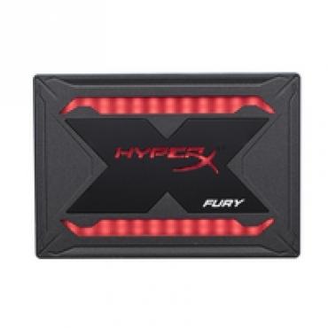 "Kingston ""HyperX Fury SHFR  240G SATA3 2.5"""" RGB Bundle  """