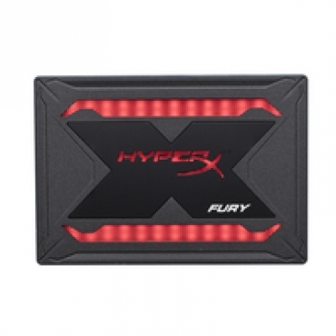 "Kingston ""HyperX Fury SHFR 240G SATA3 2.5"""" RGB"""