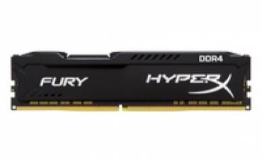 Kingston_ValueRAM DDR4 8GB 3466MHz DDR4 CL19 DIMM 1Rx8 HyperX FURY Black