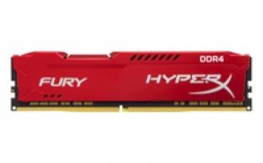 Kingston_ValueRAM DDR4 8GB 3200MHz CL18 DIMM HyperX FURY Red