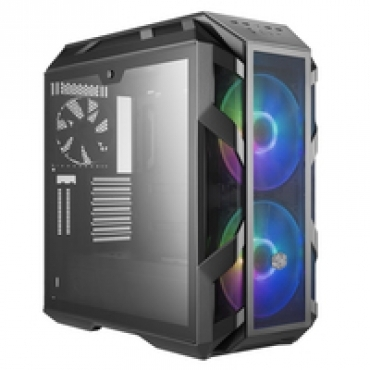 Cooler_Master MasterCase H500M  4x Tempered Glass Panels  2x 200mm Adressable RGB Fans & Controller  Graphic Card Support Arm