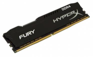 Kingston_ValueRAM DDR4 8GB 2666MHz CL16 DIMM HyperX FURY Black
