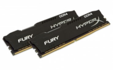 Kingston_ValueRAM DDR4 8GB 2400MHz CL15 DIMM (Kit of 2) HyperX FURY Black