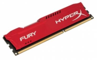 Kingston_ValueRAM DDR3 HyperX 4GB 1600MHz CL10 FURY Red