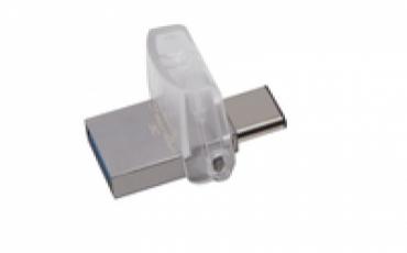 Kingston Pen Drive 128GB DataTraveler MicroDuo 3C USB 3.0/3.1   Type C