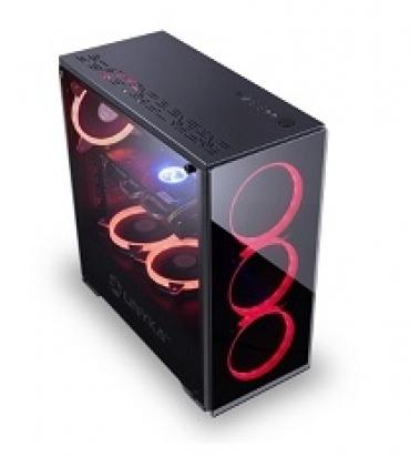 UNYKAch Caixa  ARMOR  EVO RGB  Vidro  transparente  ATX Gaming  sem fonte