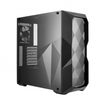 Cooler_Master MasterBox TD500L with three dimensional side acryl side panel
