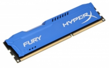 Kingston_ValueRAM DDR3 HyperX 8GB 1600MHz CL10 FURY Blue Series