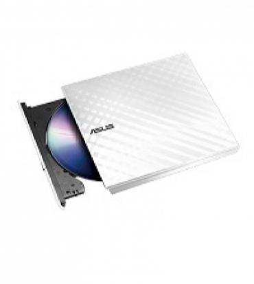 Asus SDRW-08D2S-U LITE USB 2.0 - Gravador DVD Slim 8x externo USB - Branco