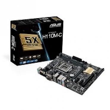 Asus H110M-C - Intel H110  LGA1151  2DDR4(Dual channel)  32G Max  M-ATX