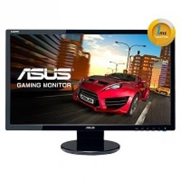 "Asus ""VE248HR - Monitor LED - 24"""" - 1920 x 1080 FullHD - 250 cd m2 - 10000000:1 - 1ms - HDMI1.3  DVI-D  D-Sub - Colunas - VESA - EPEAT"""