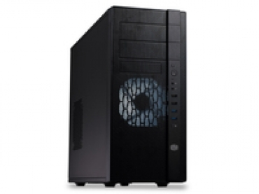 Cooler_Master N400  Mesh front panel  Includes two XtraFlo 120 fans  support for up to 8 fans Supports high-end graphics cards up to 320mm  USB 3.0*2  Supports up to 8 HDDs (2 tool-less)