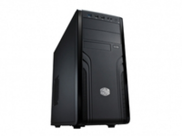 "Cooler_Master ""CM Force 500  Classy designed front panel  Supports up to 6 fans  Supports up to 2 ODDs and 8 HDDs  Tool-free mounting of ODD bays and 3.5"""" brackets for quicker installation  Rich I/O panel with USB"