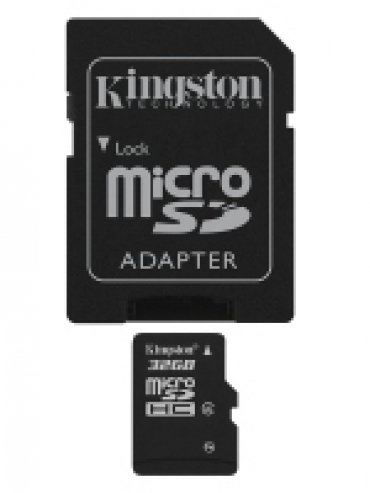 Kingston Micro SD card 32GB Classe 4