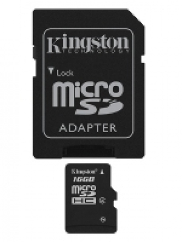 Kingston Micro SD card 16GB Classe 4