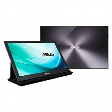 "Asus ""MB169C+ - Monitor LED IPS Mobile - 15.6"""" - 1920 x 1080 FullHD - 250 cd/m2 - 100000000:1 - 5ms - USB Type-C"""