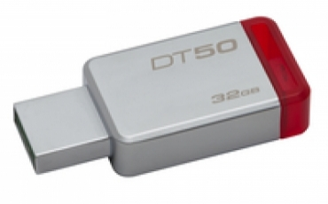 Kingston DataTraveler 50 32gb USB 3.0 Metal/Red