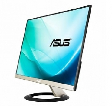 "Asus ""VZ249Q - 23.8"""" Monitor, FHD (1920x1080), IPS, Ultra-Slim Design, DP, HDMI, D-Sub, Flicker free, Low Blue Light, TUV certified"""