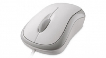 Microsoft L2 Basic Optical Mouse Mac/Win USB - Branco