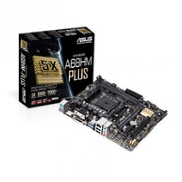 Asus A68HM PLUS   AMD A68H FCH  2DDR3  Socket FM2+  MicroAtx