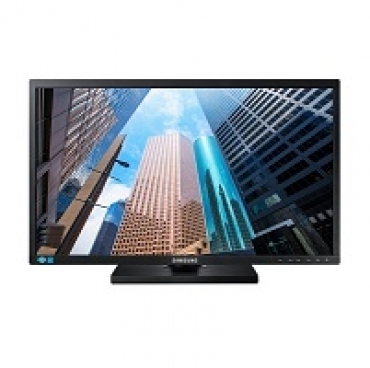 "Samsung ""S22E45 - LED 22""""  Brilho 250nits  Color Support 16.7 M  Tempo de resposta 5ms  VGA   DVI   USB Sound bar  Vesa 100x100  Audio In  Headphone  Loud Speaker - Black high Glossy"""