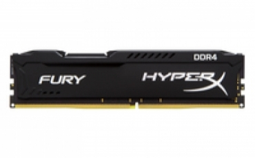 Kingston_ValueRAM DDR4 8GB 2400MHz DDR4 CL15 HyperX FURY Black