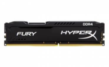 Kingston_ValueRAM DDR4 16GB 2400MHz CL15 DIMM HyperX FURY Black