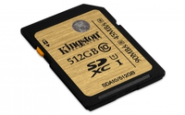 Kingston SD Card 512GB Classe 10 UHS-I Ultimate