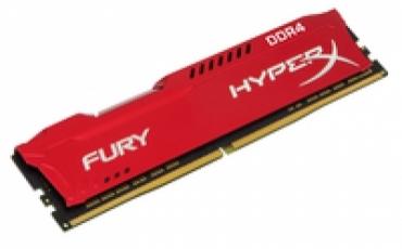 Kingston_ValueRAM DDR4 16GB 2400MHz  CL15 HyperX FURY Red