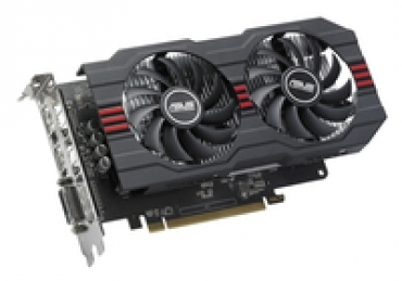 Asus RX560-4G - Radeon RX 560 OC edition 2GB GDDR5 graphics card for cool and efficient eSports gaming  DVI  HDMI  DP  4G  D5