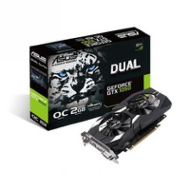 Asus DUAL-GTX1050-O2G-V2, DDR5 2GB, 128BIT, 1518MHZ/1404MHZ,DUAL-LINK DVI-D (HDCP SUP