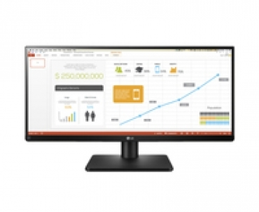 "LG ""29UB67-B - LED 29"""" IPS (178º /178º) Ultra Wide, Ajuste Altura, tempo de resposta  5ms, brilho  300 cd, contraste DFC  5.000.000 1, HDMI / Display Port / DVI-D - Preto"""