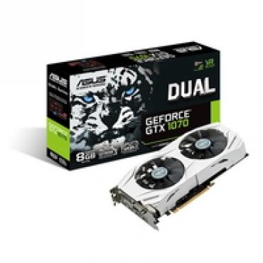 Asus DUAL-GTX 1070-8G - NVIDIA Geforce GF GTX 1070 8G GDDR5 PCI-E 3.0