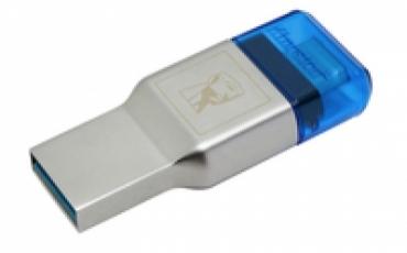 Kingston Leitor de Cartões MobileLite DUO 3C USB3.1+TypeC microSDHC/SDXC