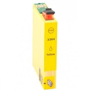 Compatível Epson 33XL T3364 Amarelo