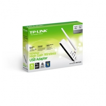 Placa de Rede TP-Link Wireless N 150Mbps USB