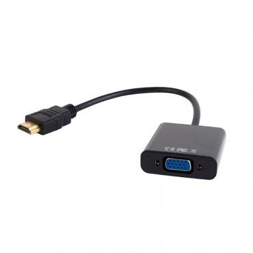 Adaptador HDMI-M p/ VGA-F