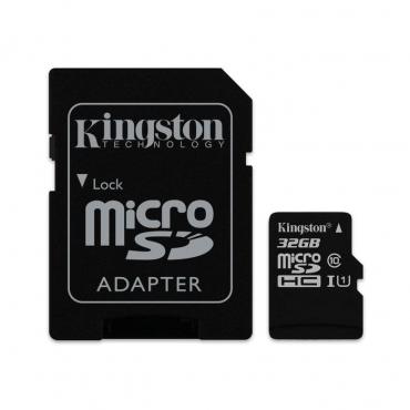 Cartão Memória Kingston Canvas Select UHS-I microSDHC C10 32GB