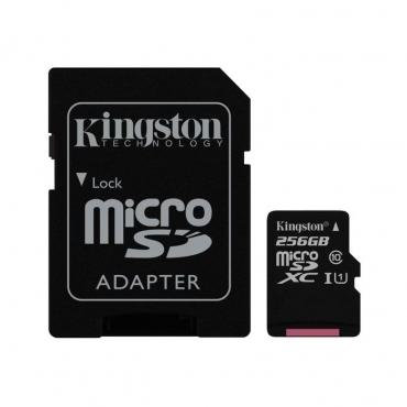 Cartão Memória Kingston Canvas Select UHS-I microSDXC C10 256GB