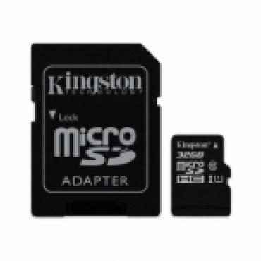 Cartão Memória Kingston Canvas Select UHS-I MicroSDXC C10 64GB