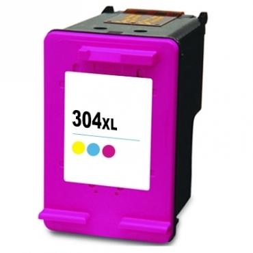 Compatível HP 304XL Cores